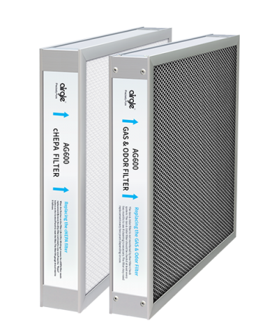 AG600 cHEPA Filter+Activated Carbon Filter