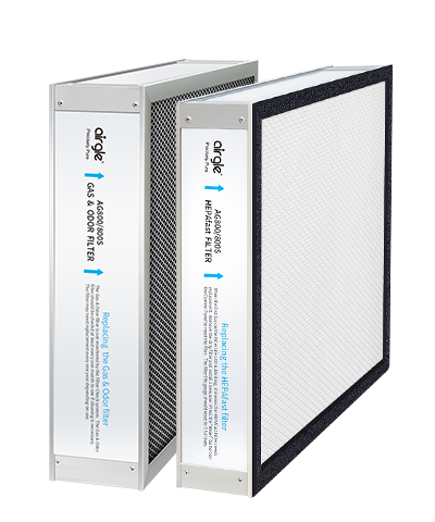 AG800 Activated Carbon Filter+HEPAfast Filter